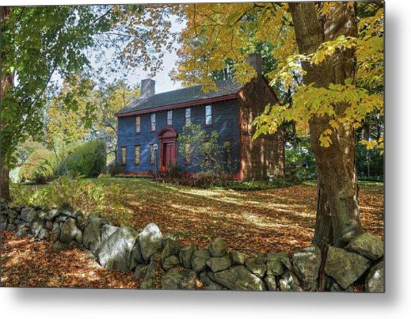 Autumn At Short House Metal Print