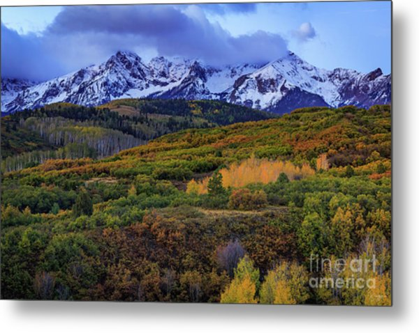 Autumn At The Dallas Divide Metal Print