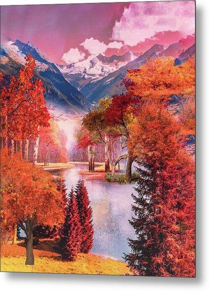 Autumn Landscape 1 Metal Print