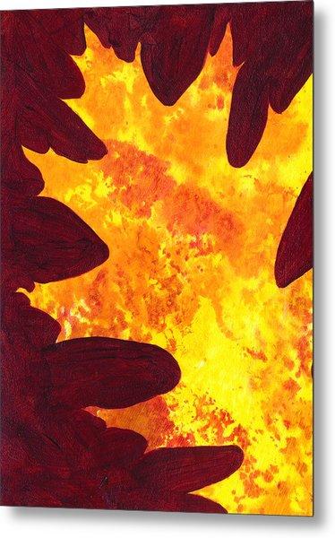 Autumn Oak 5 Metal Print