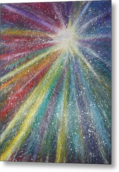 Metal Print featuring the painting Awakening by Amelie Simmons