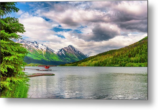 Awe The Draw Of Alaska Metal Print