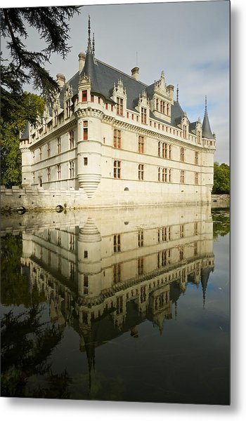 Metal Print featuring the photograph Azay-le-rideau by Stephen Taylor