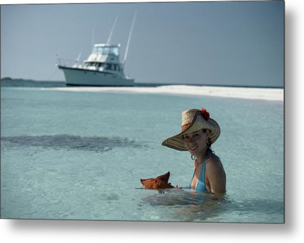 Bahamas Holiday Metal Print by Slim Aarons
