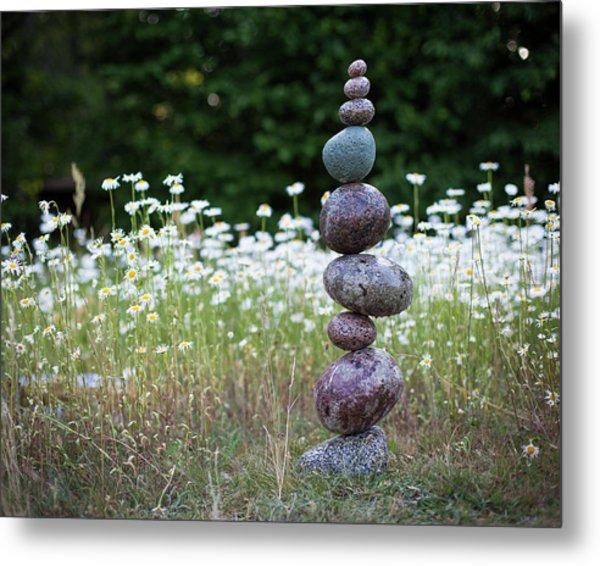 Balancing Art #15 Metal Print