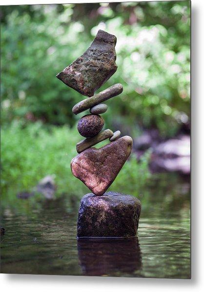 Balancing Art #16 Metal Print