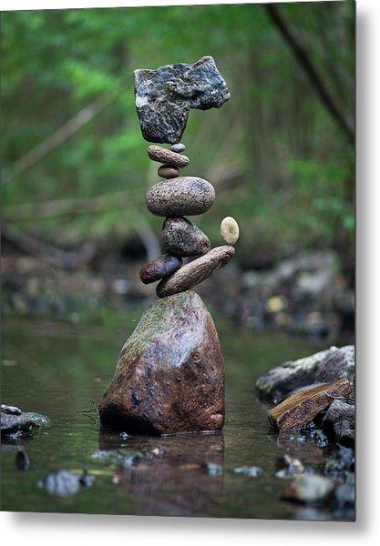 Balancing Art #18 Metal Print