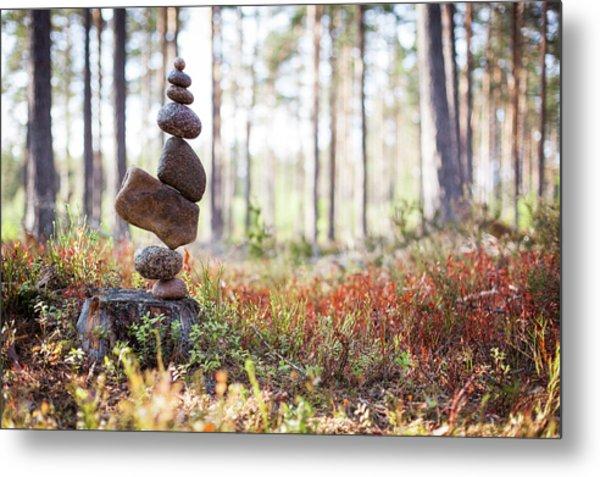 Balancing Art #20 Metal Print