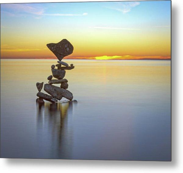Balancing Art #22 Metal Print