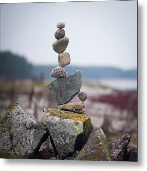 Balancing Art #30 Metal Print