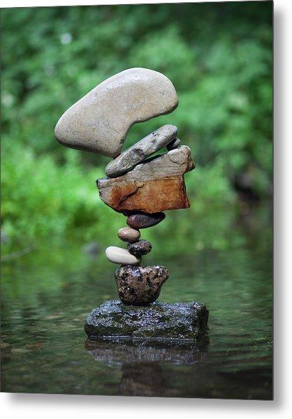 Balancing Art #40 Metal Print