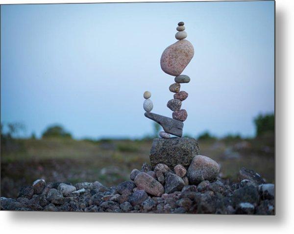Balancing Art #43 Metal Print