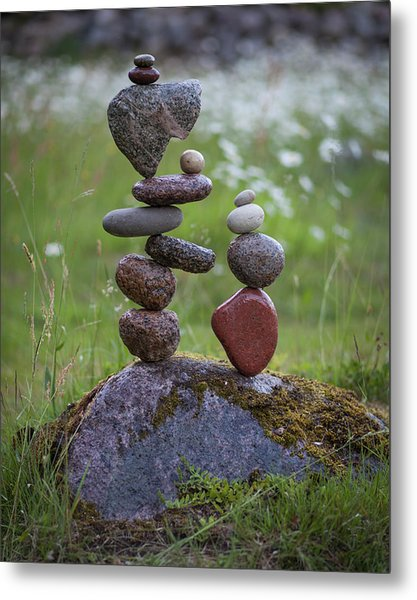 Balancing Art #45 Metal Print