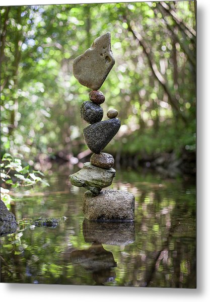 Balancing Art #61 Metal Print