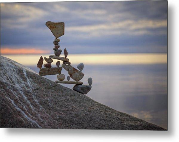 Balancing Art #7 Metal Print