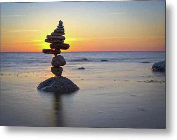 Balancing Art #8 Metal Print