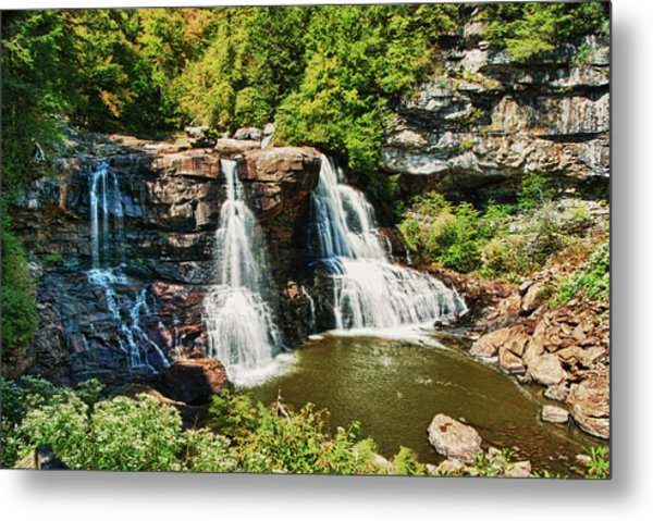 Balckwater Falls - Wide View Metal Print