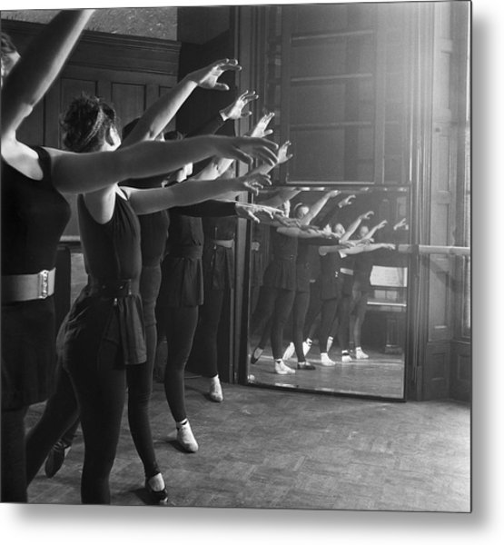 Ballet Class Metal Print by Chris Ware