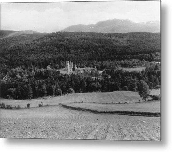 Balmoral Castle Metal Print by Fox Photos