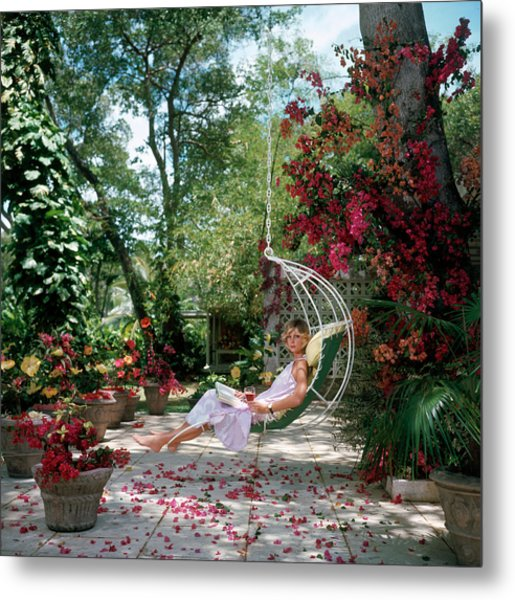 Barbados Bliss Metal Print by Slim Aarons