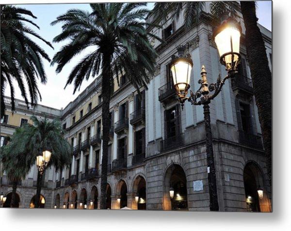 Barcelona, Placa Reial Metal Print