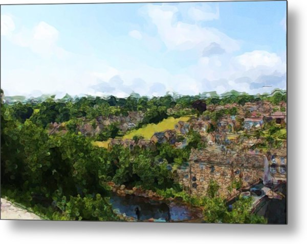 Barnard Castle View Metal Print