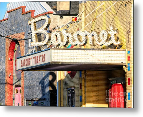 Baronet Theater Asbury Park New Jersey 1913 Demolished In 2010 Metal Print