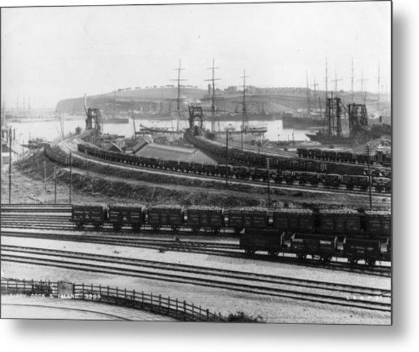 Barry Rail Metal Print by Hulton Archive