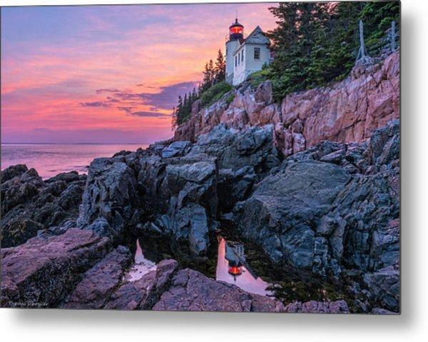 Bass Head Lighthouse - Acadia Metal Print