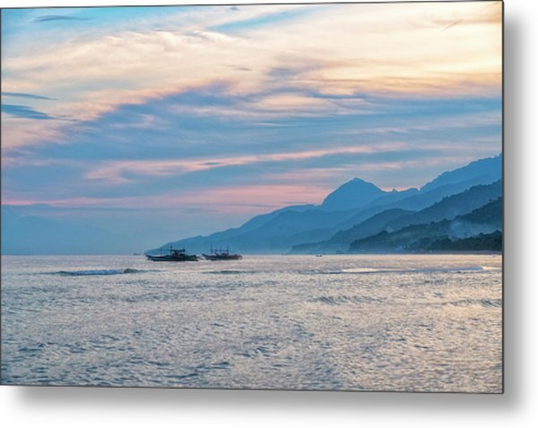 Batangas Sunset Metal Print