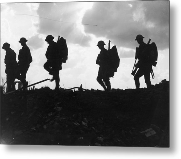 Battle Of Broodseinde Metal Print by Fotosearch
