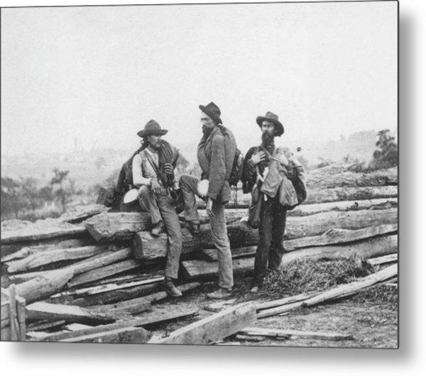 Battle Of Gettysburg Metal Print by Archive Photos
