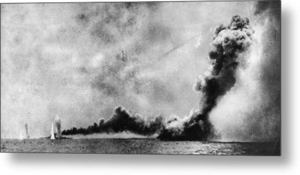 Battle Of Jutland Metal Print by Hulton Archive