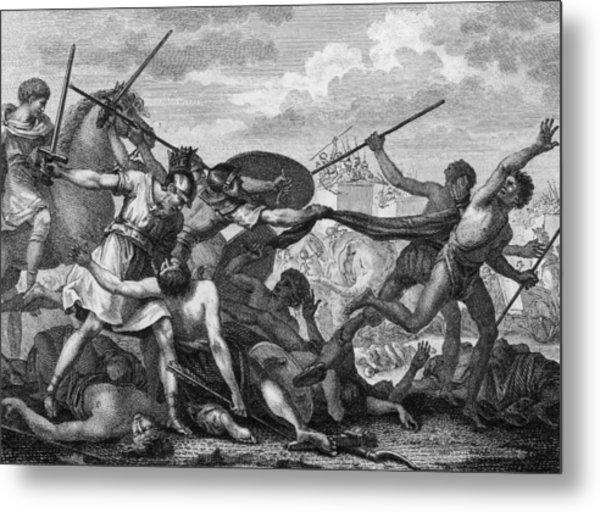 Battle Of Zama Metal Print by Hulton Archive