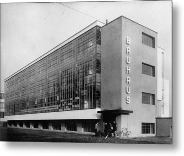 Bauhaus Metal Print by General Photographic Agency