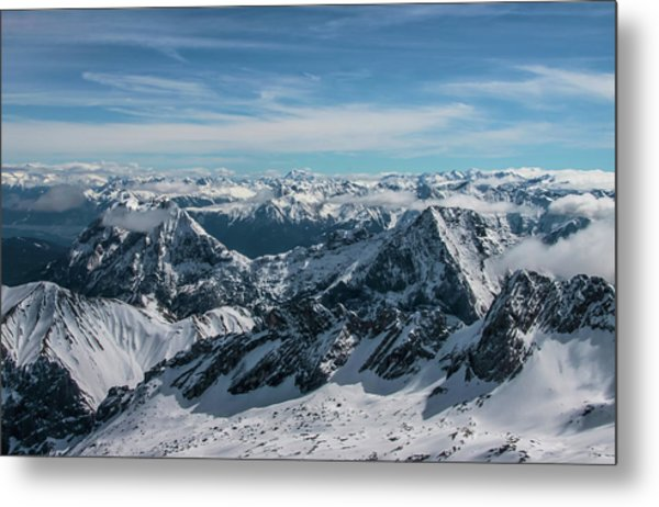 Bavarian Alps Metal Print