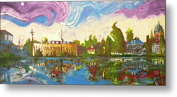 Bayou Saint John One Metal Print