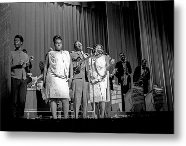 Bb King With The Soul Sisters In Ny Metal Print