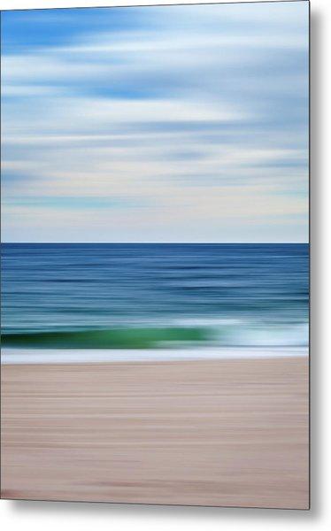 Beach Blur Metal Print
