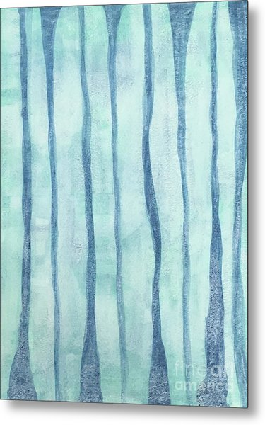 Beach Collection Beach Water Lines 2 Metal Print