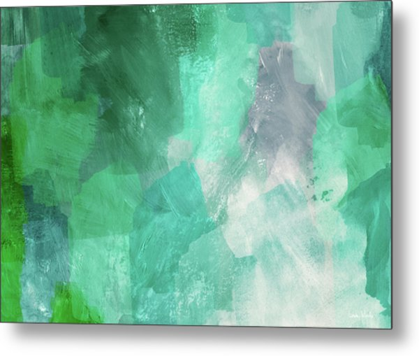 Beach Glass 3- Art By Linda Woods Metal Print