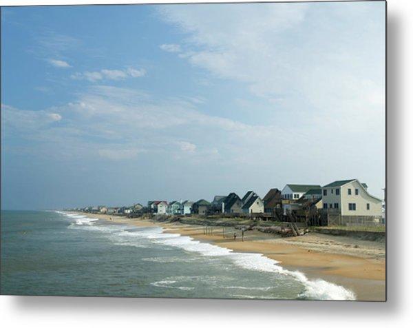 Beach Houses Metal Print by Jpecha