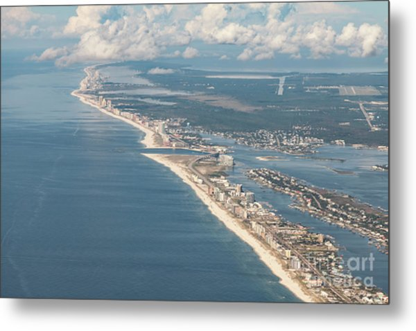 Beachmiles-natural-5137 Metal Print