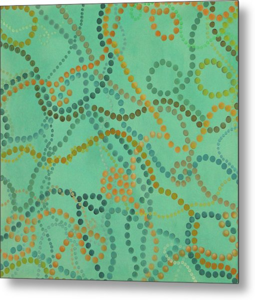 Beads - Under The Ocean Metal Print