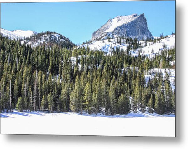 Metal Print featuring the photograph Bear Lake View Of Notchtop Mountain by Dawn Richards