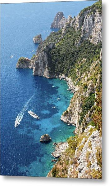 Beautiful Capris Sea Metal Print by Pierpaolo Paldino