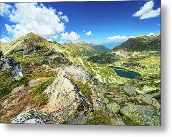 Beautiful Landscape Of Pirin Mountain Metal Print