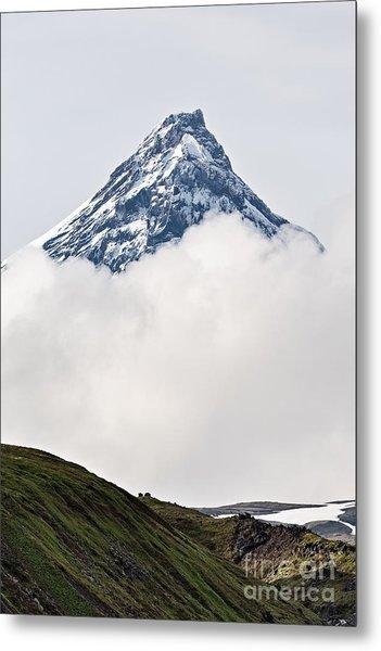 Beautiful Mountain Landscape Of Metal Print by Alexander Piragis
