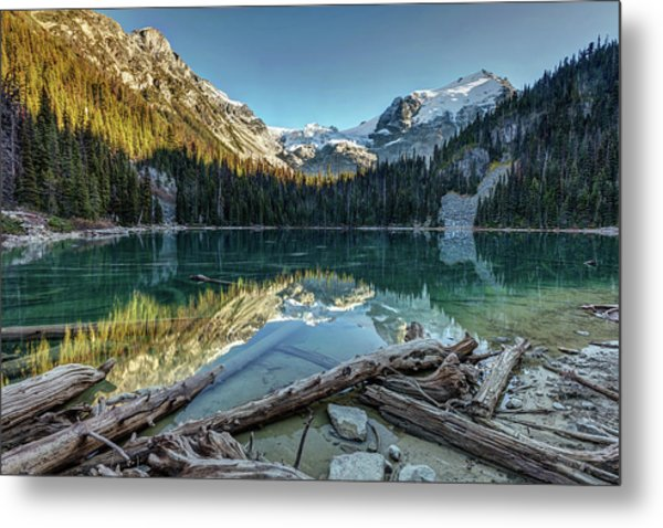 Metal Print featuring the photograph Beautiful Nature Of Joffre Lakes by Pierre Leclerc Photography
