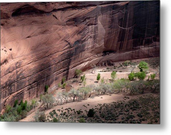Beautiful Rock Formations Of Canyon De Metal Print